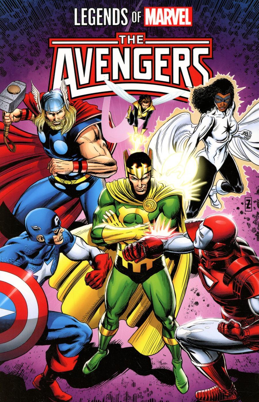 Legends Of Marvel Avengers TP