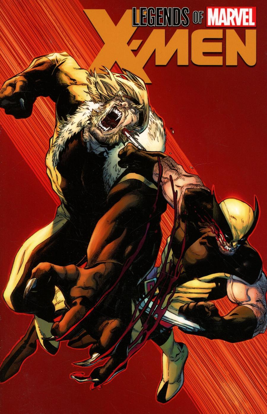 Legends Of Marvel X-Men TP