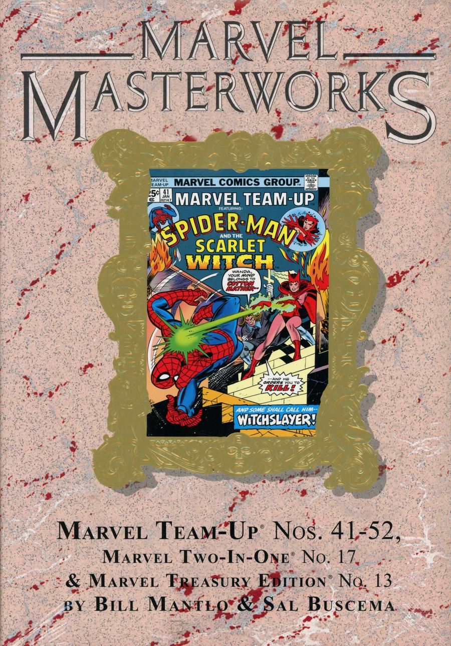Marvel Masterworks Marvel Team-Up Vol 5 HC Variant Dust Jacket