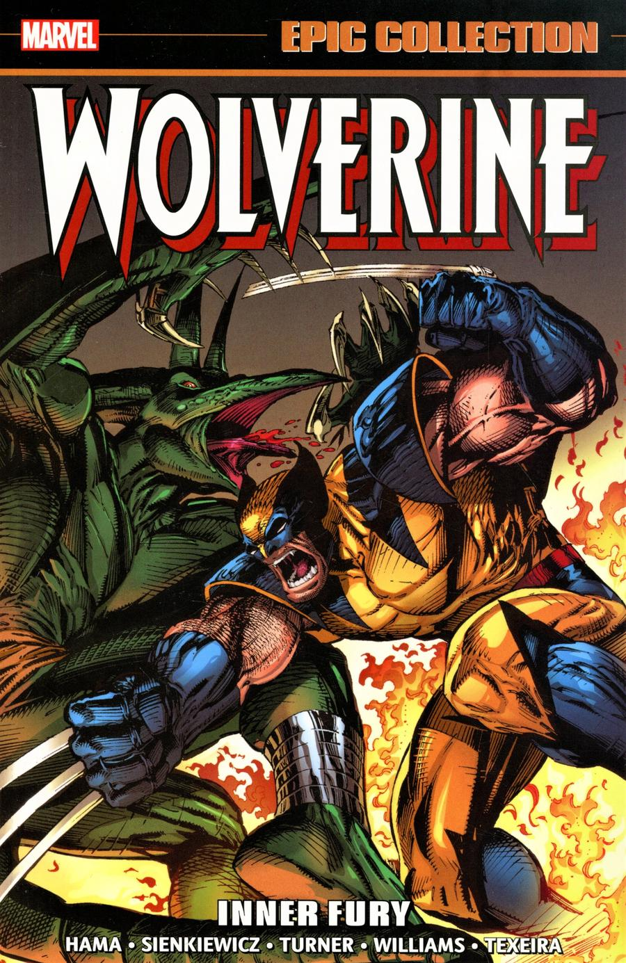 Wolverine Epic Collection Vol 6 Inner Fury TP