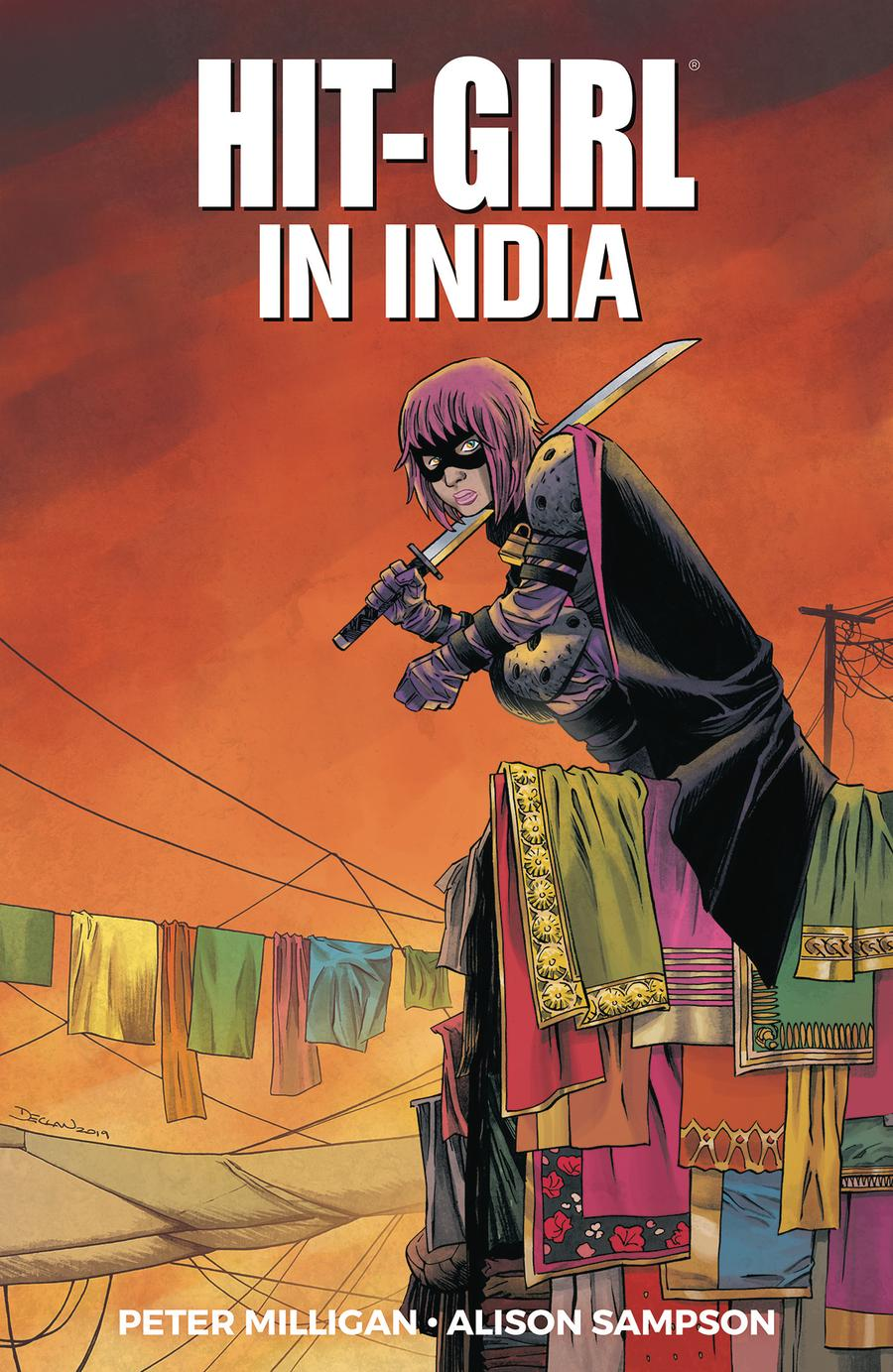 Hit-Girl Vol 6 Hit-Girl In India TP
