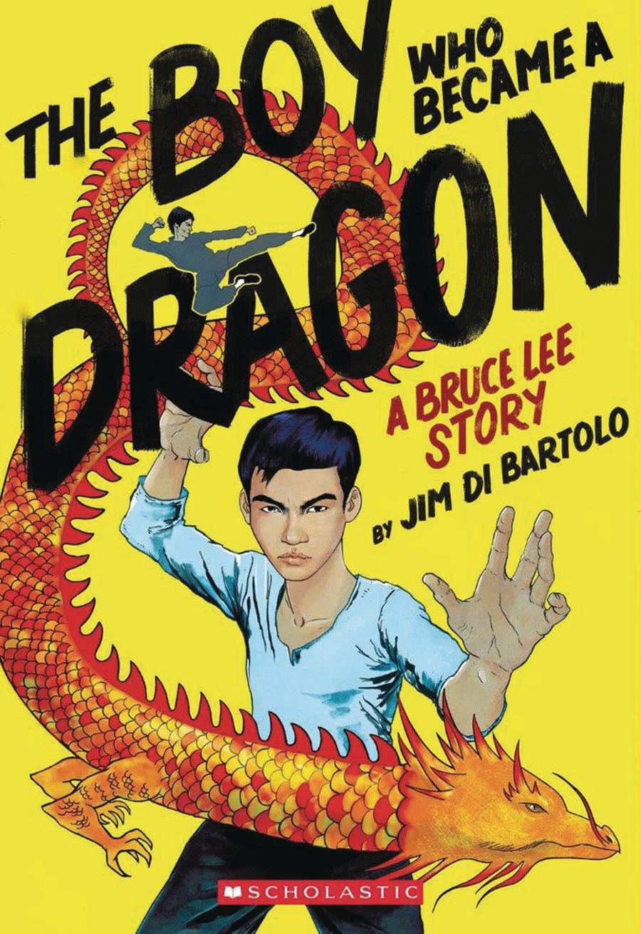 Boy Who Became A Dragon A Bruce Lee Story TP