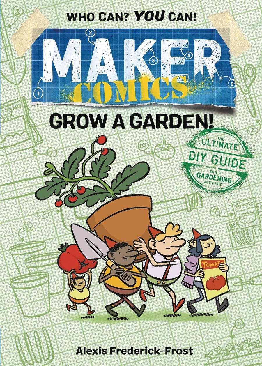 Maker Comics Grow A Garden HC