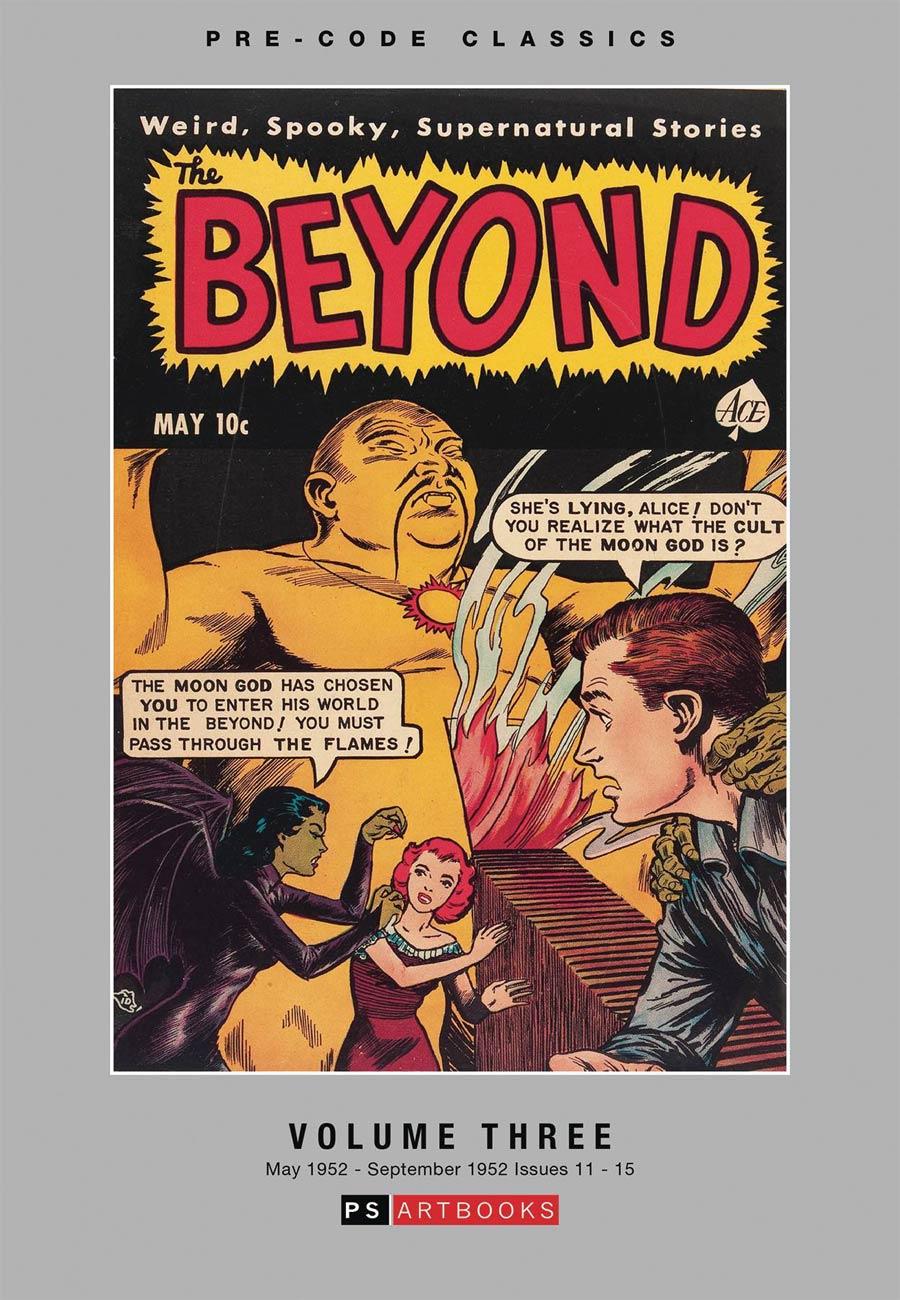 Pre-Code Classics The Beyond Vol 3 HC