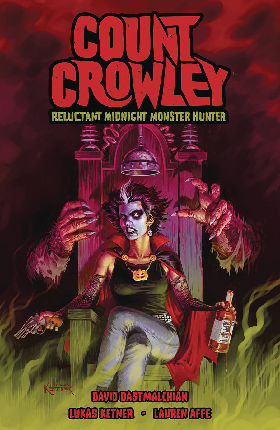 Count Crowley Reluctant Midnight Monster Hunter TP