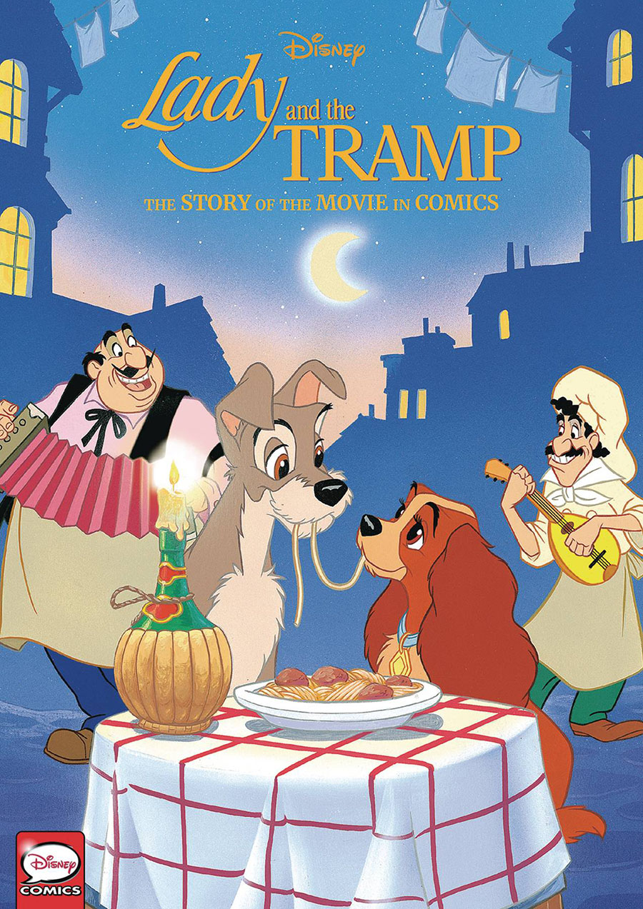 Disney Lady And The Tramp Story Of The Movie In Comics HC