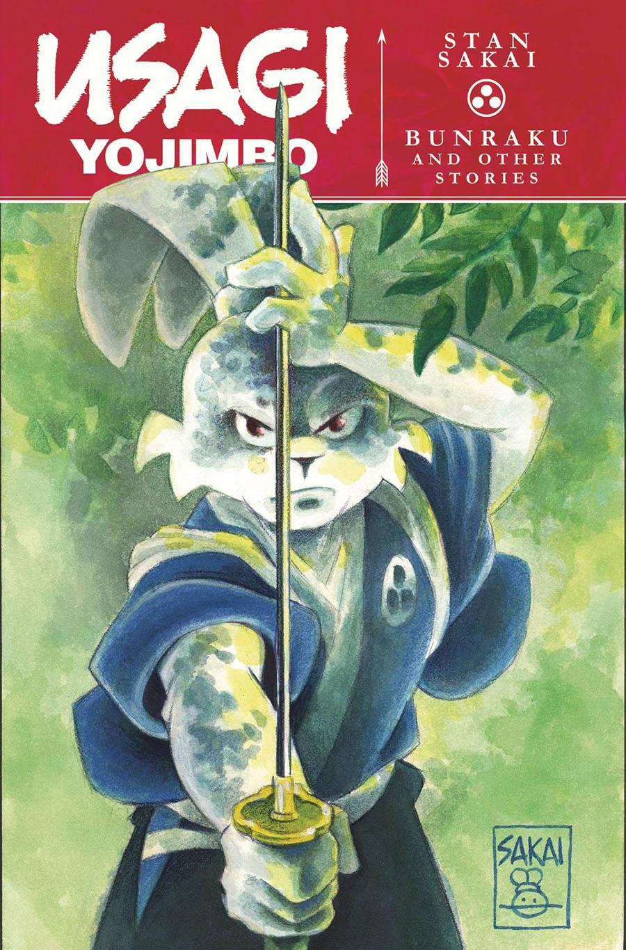 Usagi Yojimbo (IDW) Vol 1 Bunraku And Other Stories TP