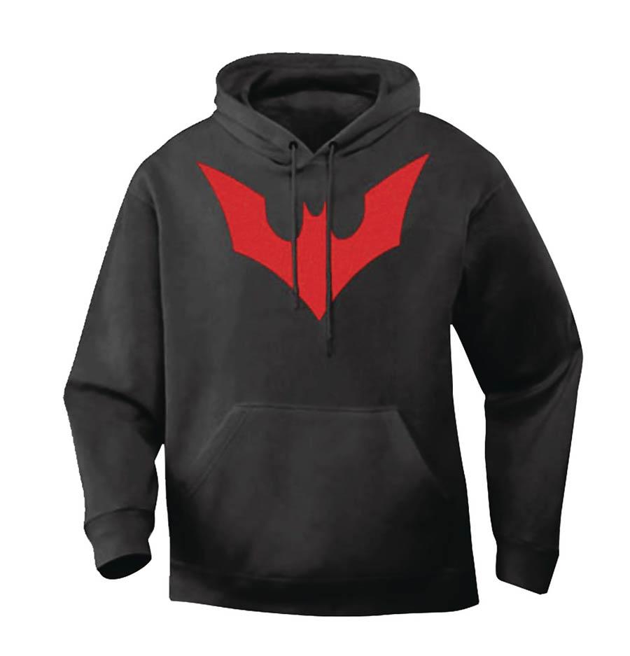 Batwoman / Batman Beyond Symbol Hoodie Small
