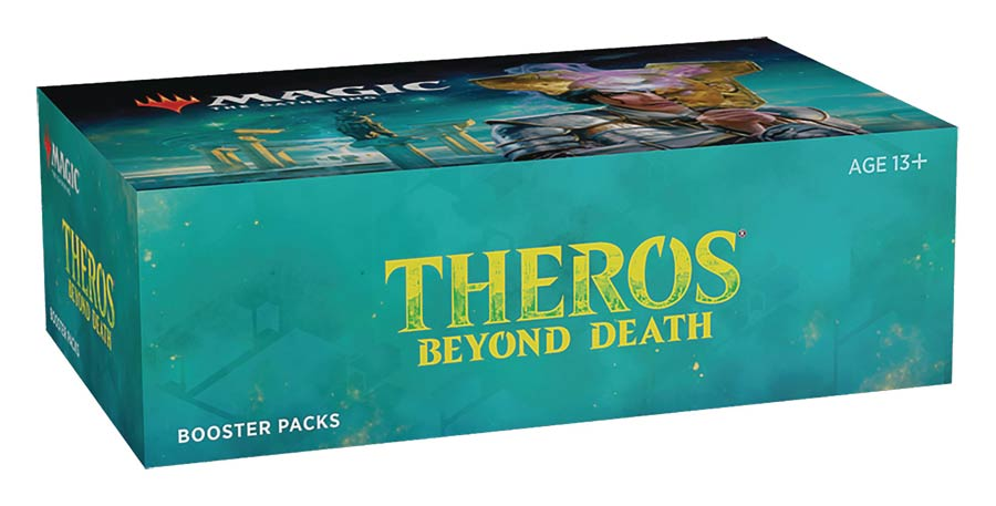 Magic The Gathering Theros Beyond Death Collector Booster Display Of 12 Collector Booster Packs