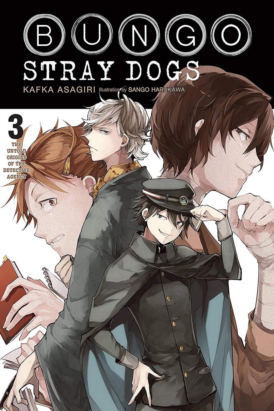 Bungo Stray Dogs Light Novel Vol 3 Untold Origins Agency