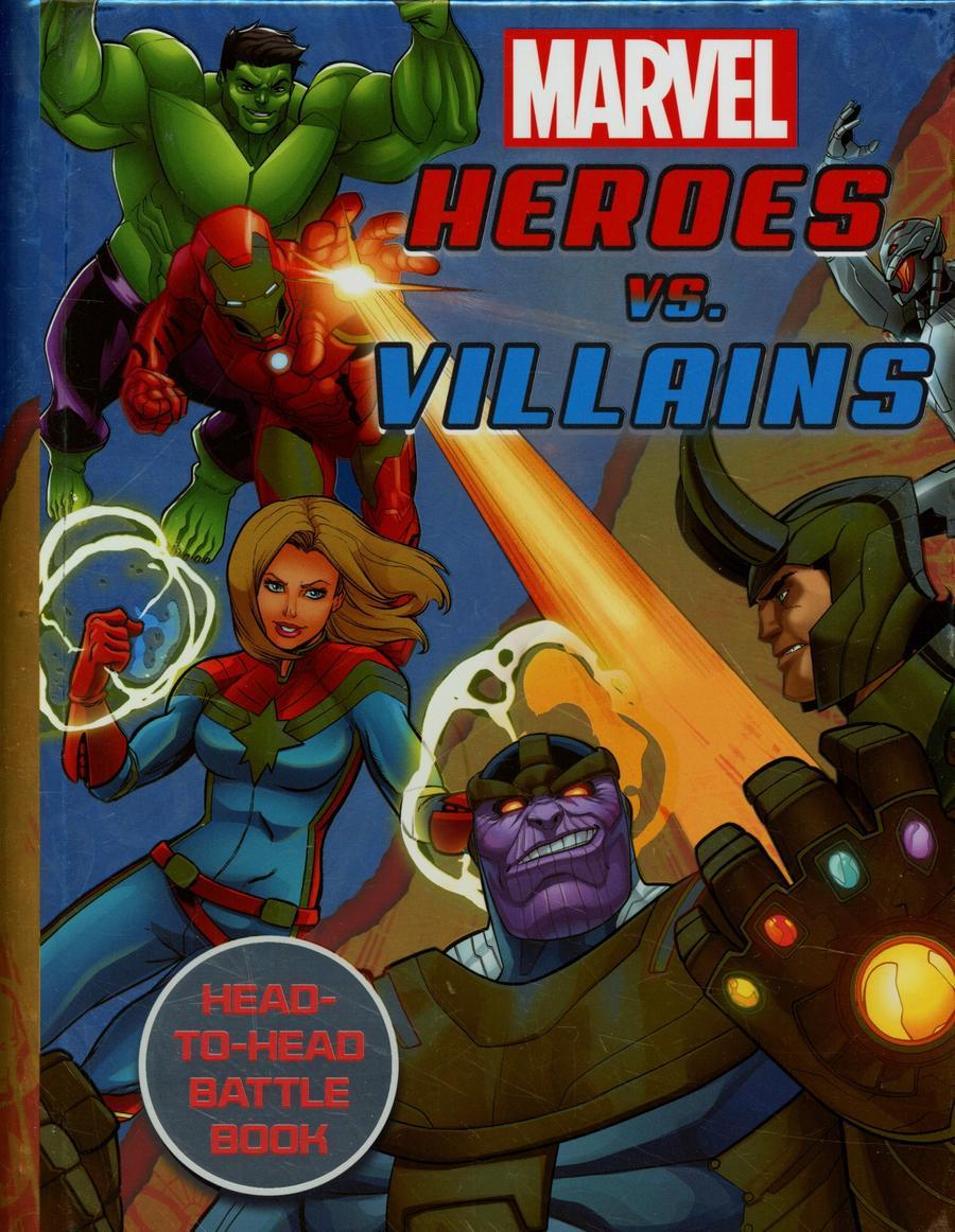 Marvel Heroes vs Villains Spiralbound HC