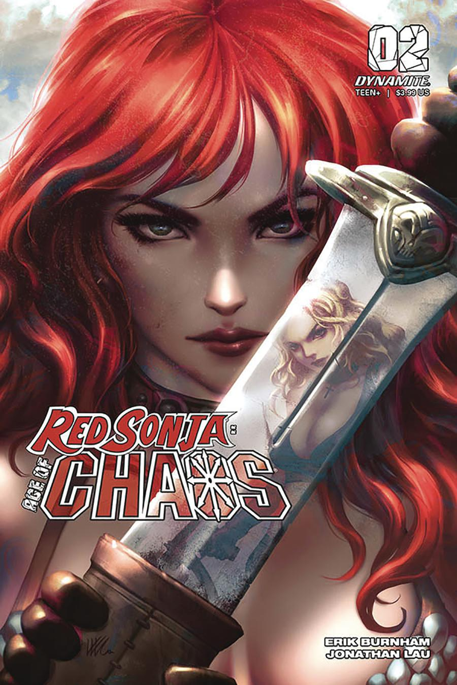 Red Sonja Age Of Chaos #2 Cover J Incentive Kunkka Variant Cover