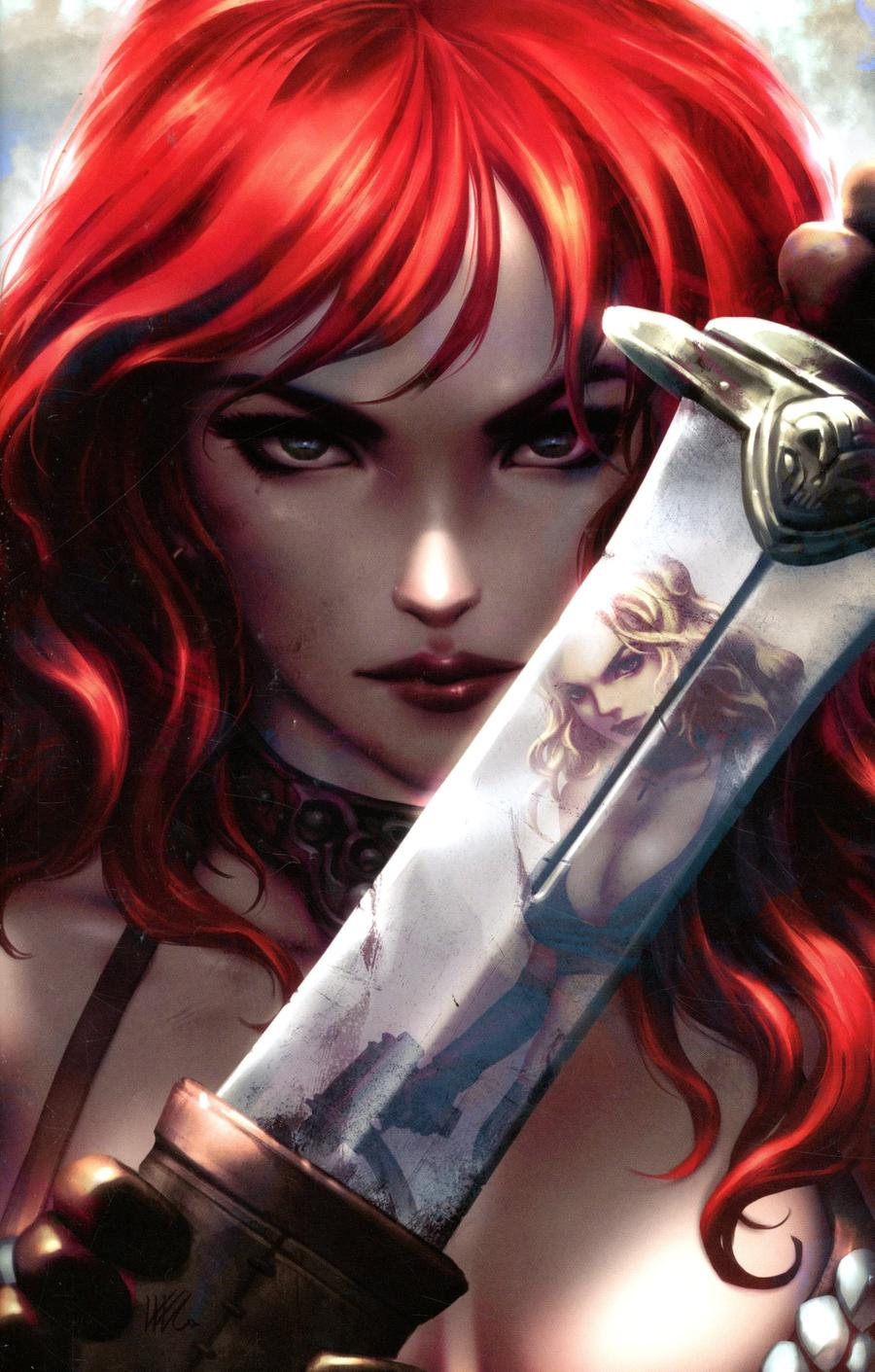 Red Sonja Age Of Chaos #2 Cover M Incentive Kunkka Virgin Variant Cover