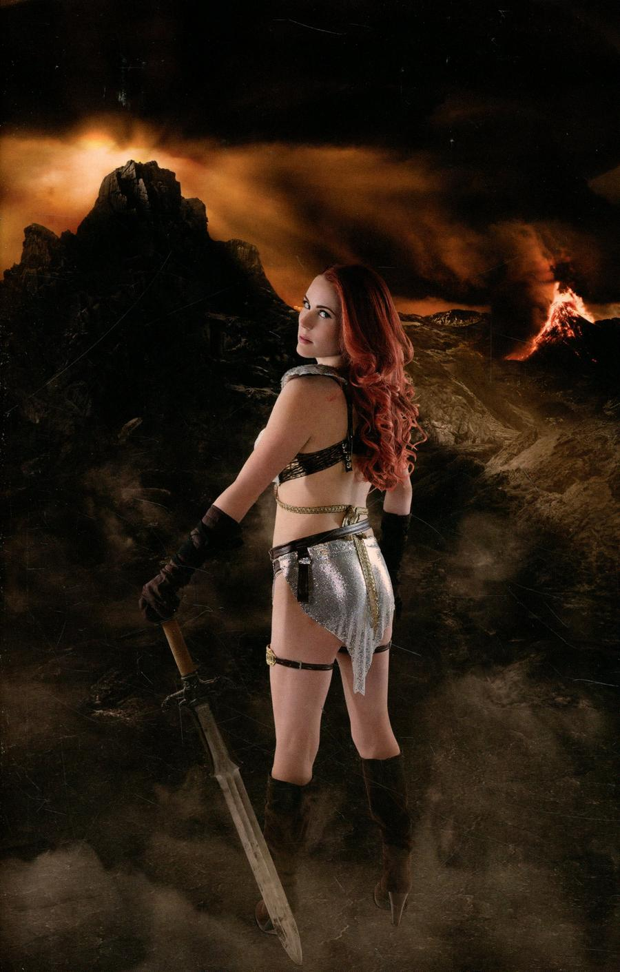 Red Sonja Age Of Chaos #2 Cover Q Incentive Shannon Kingston Cosplay Photo Virgin Cover