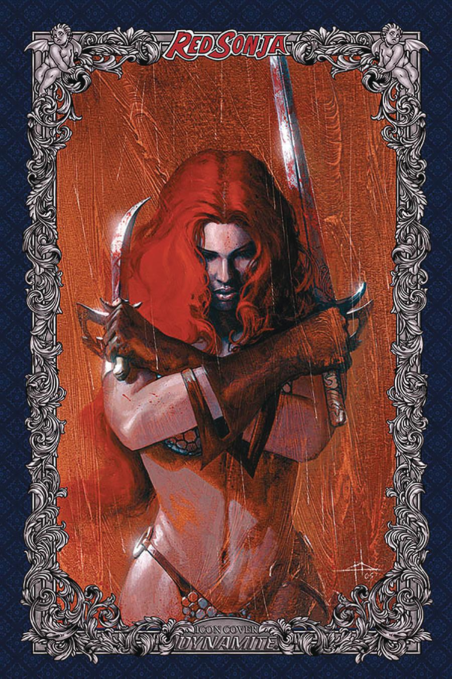 Red Sonja Age Of Chaos #2 Cover U Incentive Gabriele Dell Otto Icon Edition Variant Cover