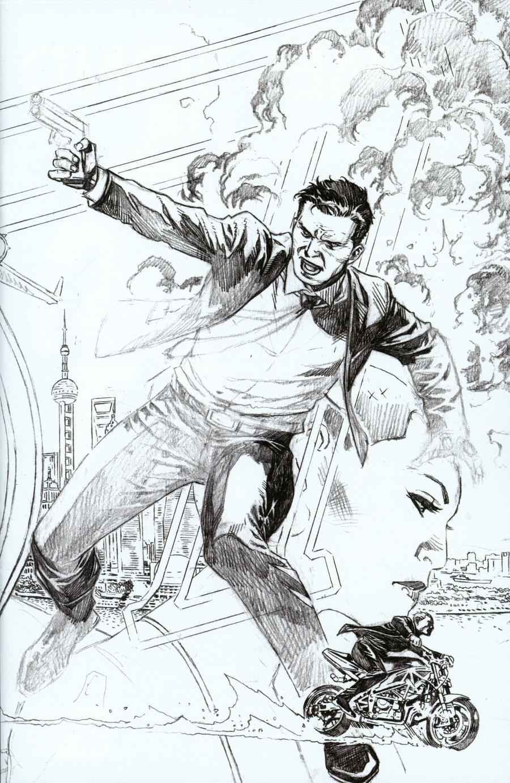 James Bond Vol 3 #3 Cover E Incentive Jim Cheung Pure Pencil Cover