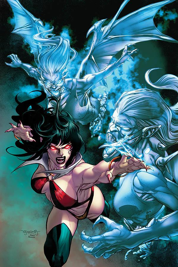 Vengeance Of Vampirella Vol 2 #5 Cover G Incentive Stephen Segovia Virgin Cover