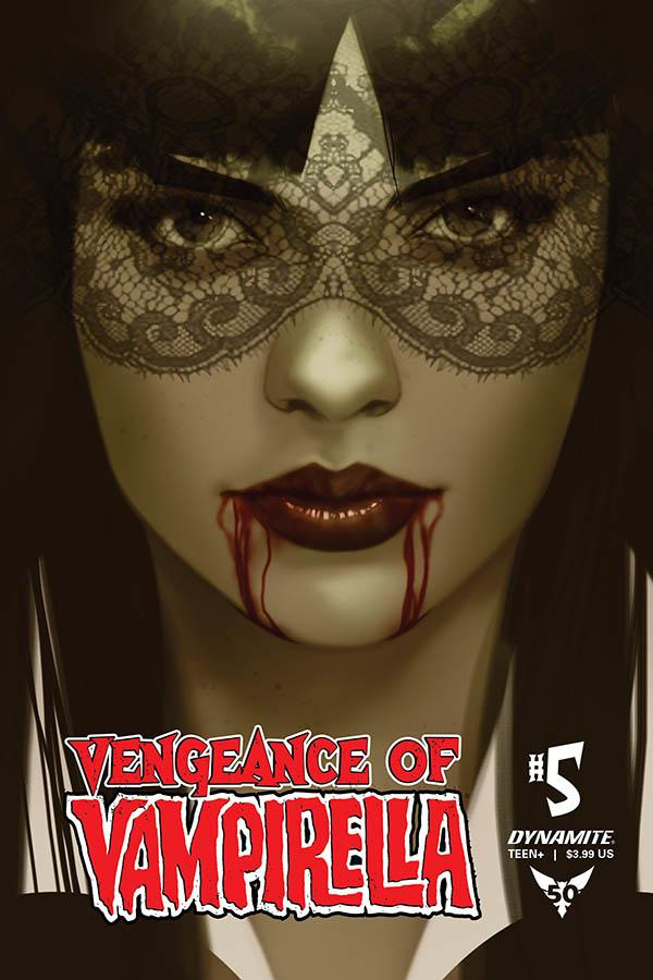 Vengeance Of Vampirella Vol 2 #5 Cover N Incentive Ben Oliver Tint Cover