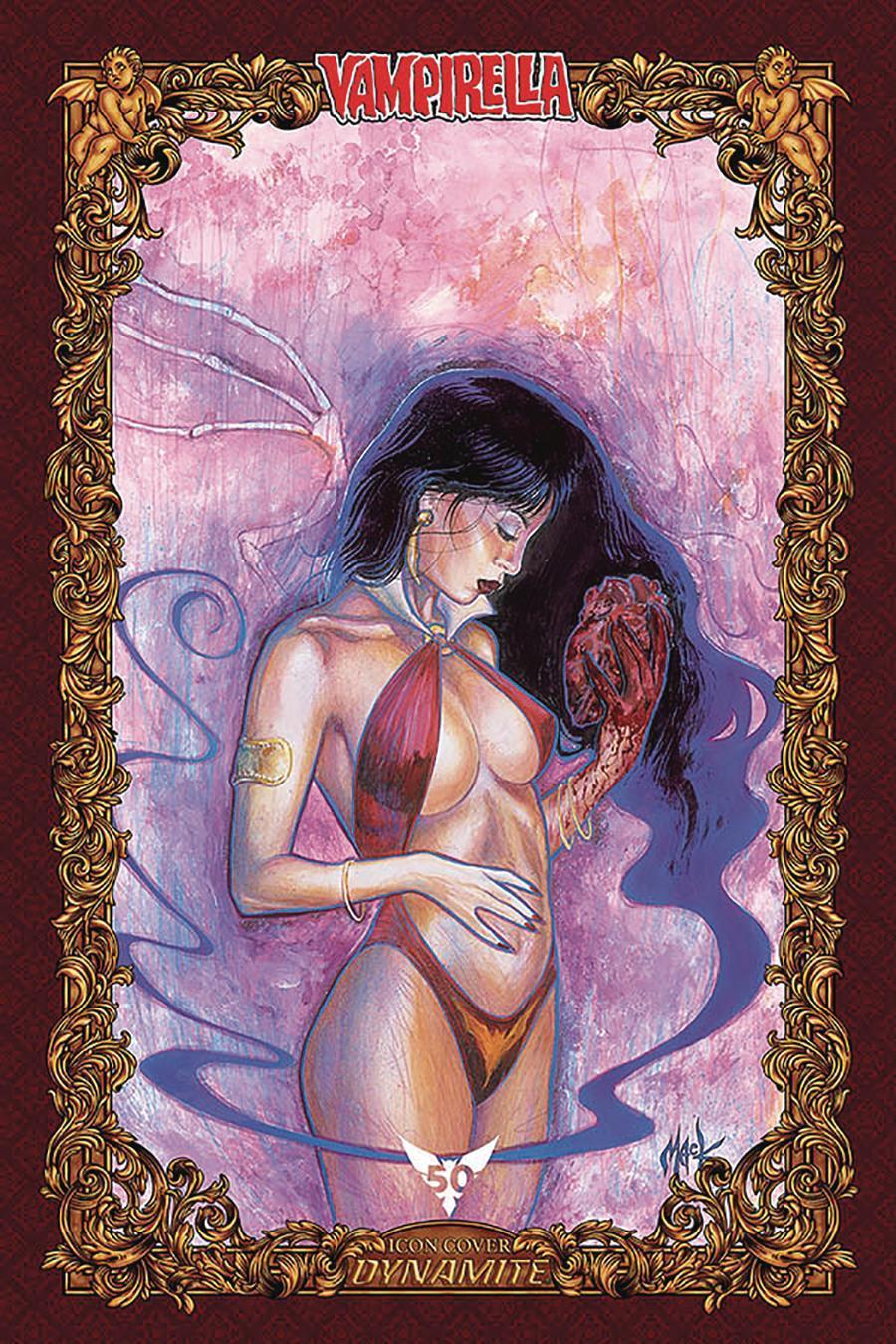 Vengeance Of Vampirella Vol 2 #5 Cover O Incentive David Mack Icon Edition Variant Cover