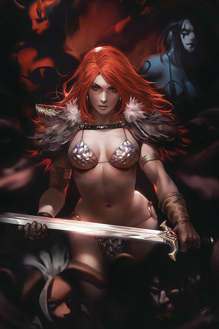 Red Sonja Age Of Chaos #2 Cover W Limited Edition Derrick Chew Virgin Cover