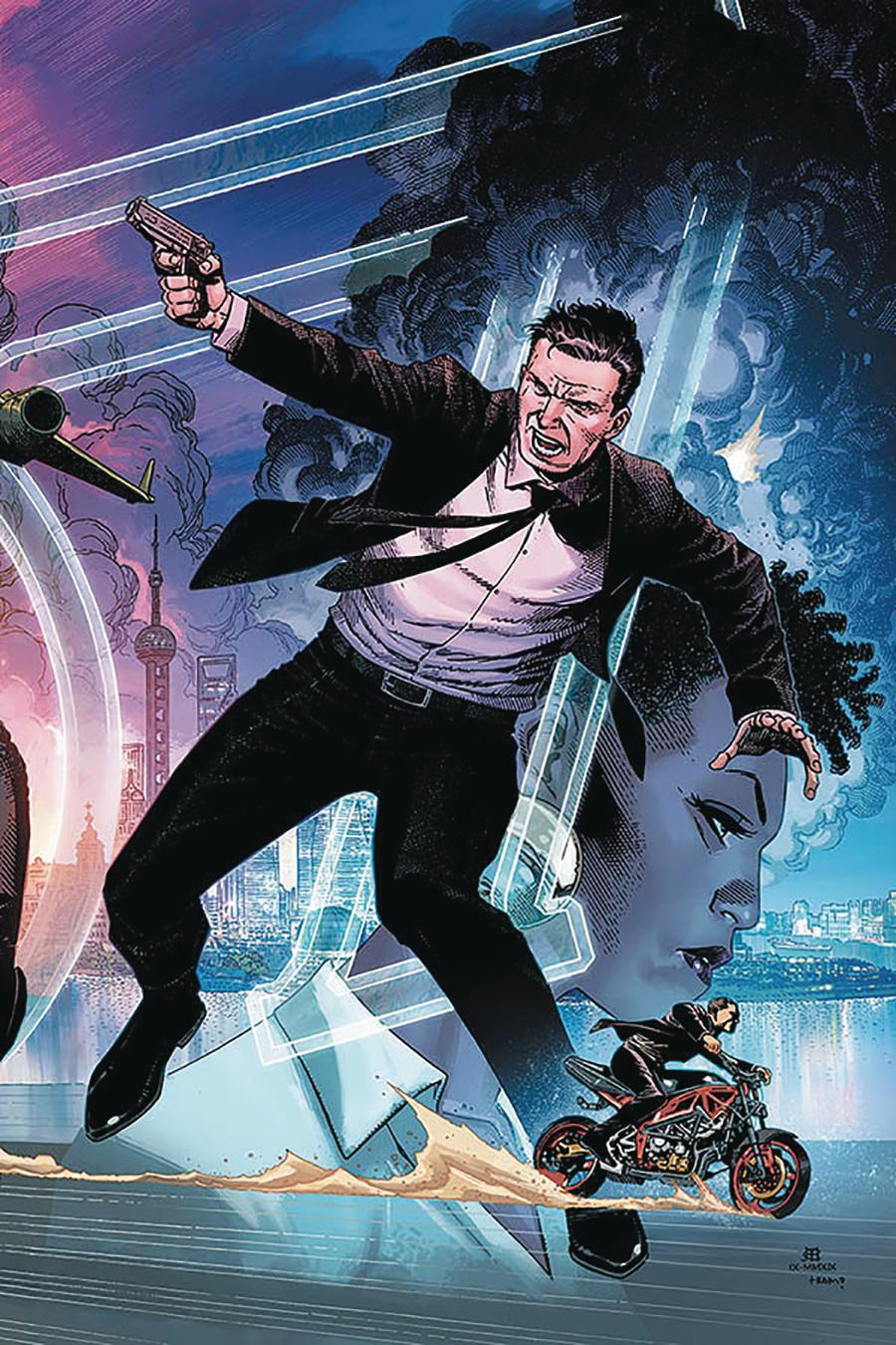 James Bond Vol 3 #3 Cover G Limited Edition Jim Cheung Virgin Cover