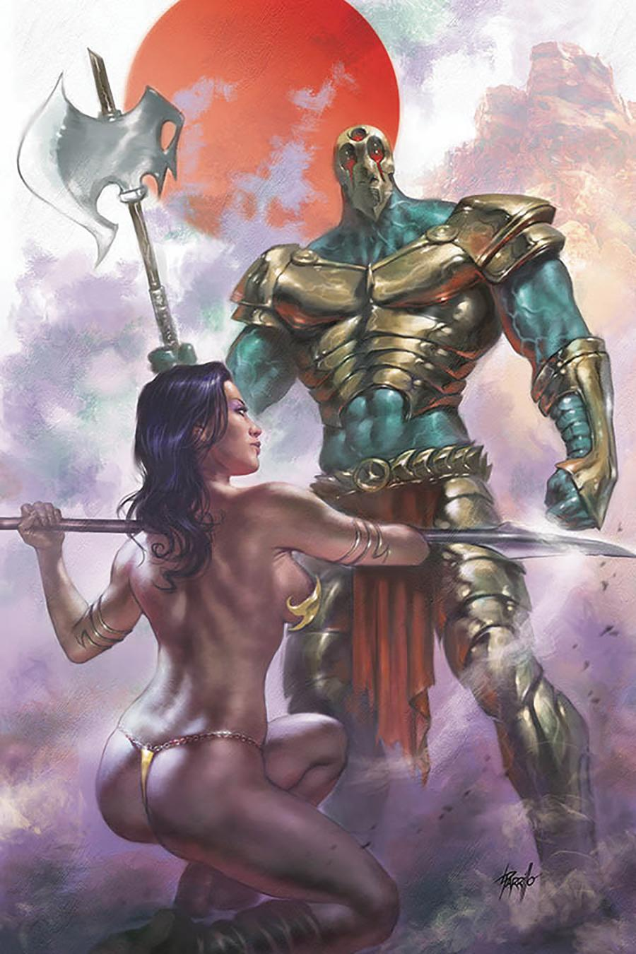Dejah Thoris Vol 3 #3 Cover R Limited Edition Lucio Parrillo Virgin Cover