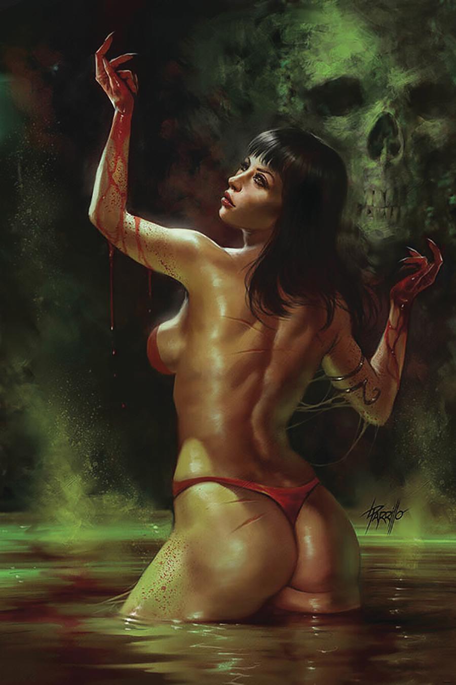 Vengeance Of Vampirella Vol 2 #5 Cover Q Limited Edition Lucio Parrillo Virgin Cover