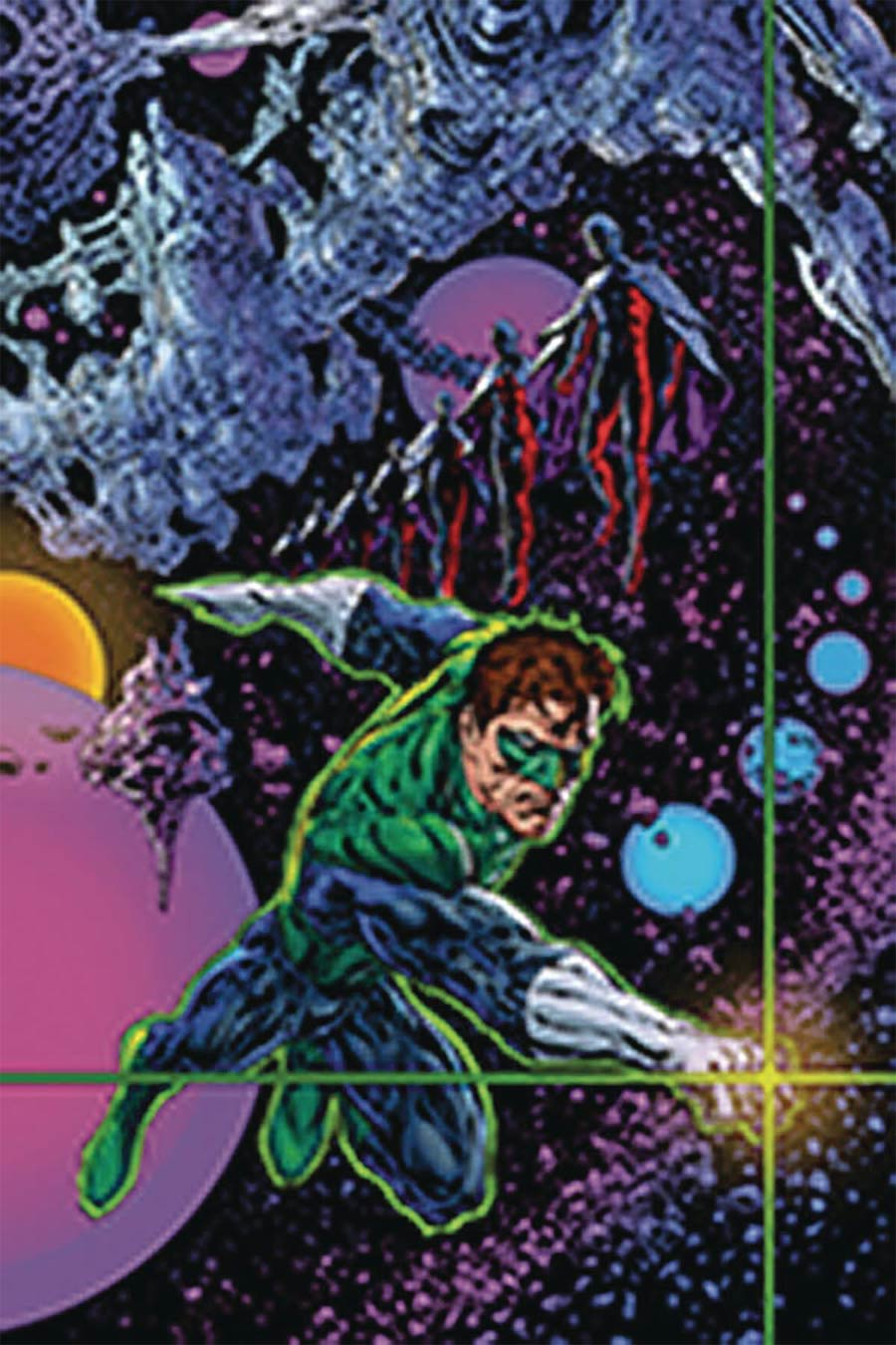 Green Lantern Vol 6 Season 2 #1 Cover D DF Signed By Liam Sharp