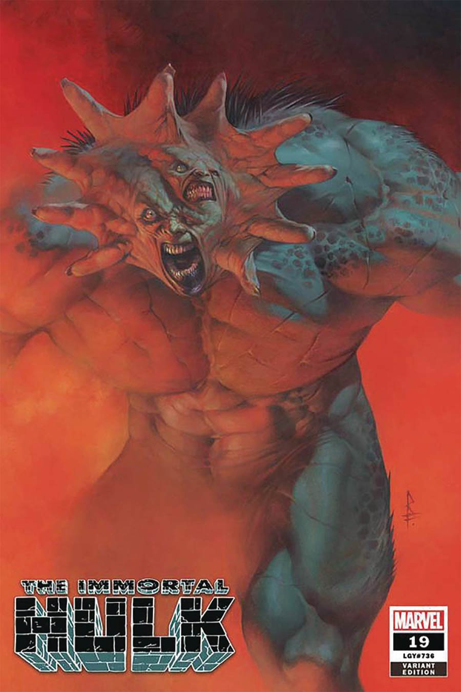 Immortal Hulk #19 Cover H DF Comicxposure Exclusive Riccardo Federici Variant Cover
