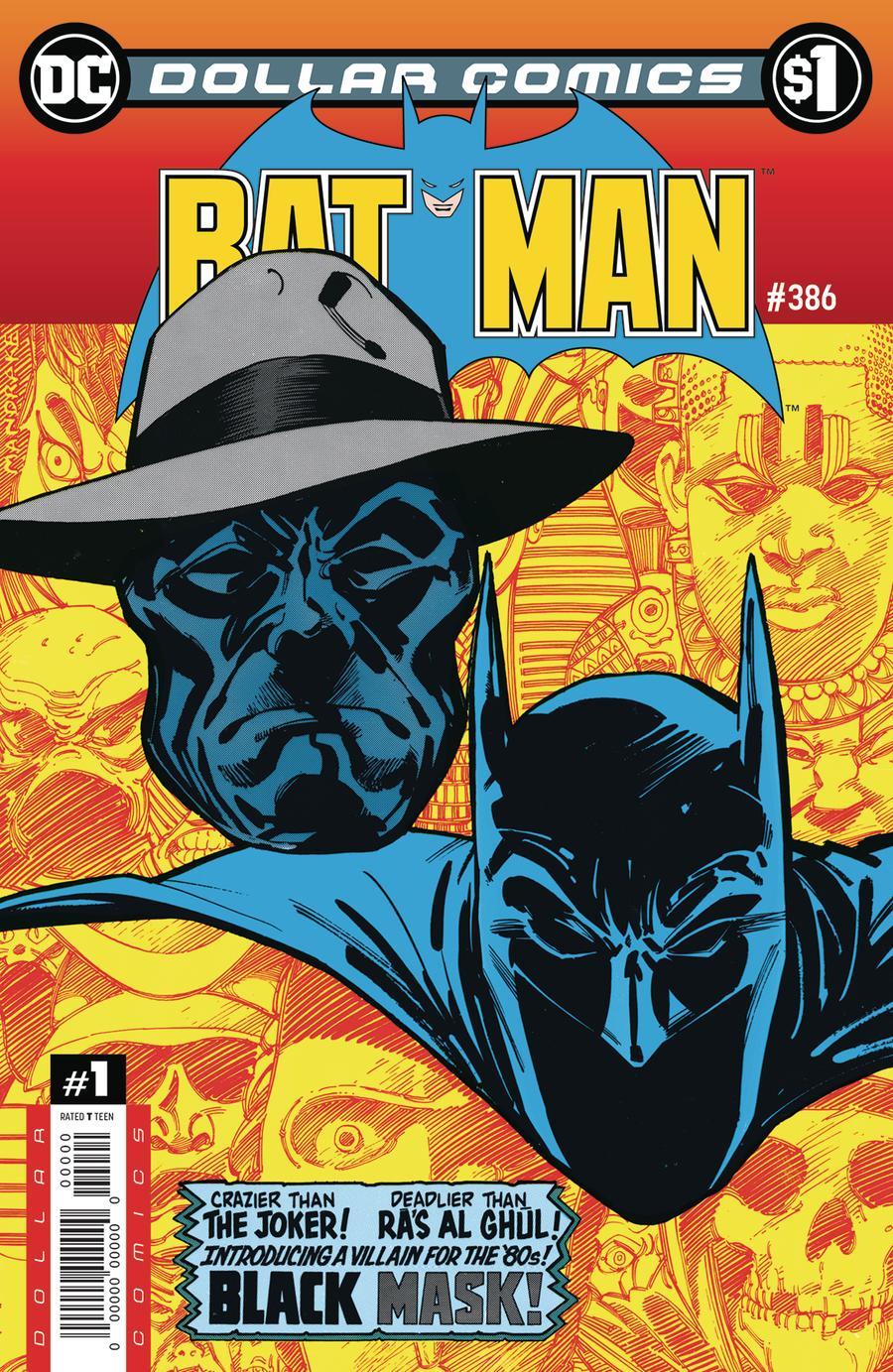 Dollar Comics Batman #386