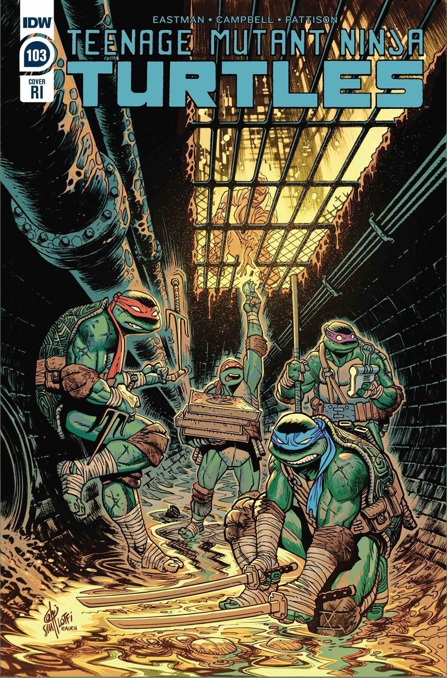 Teenage Mutant Ninja Turtles Vol 5 #103 Cover C Incentive Sam Lotfi Variant Cover