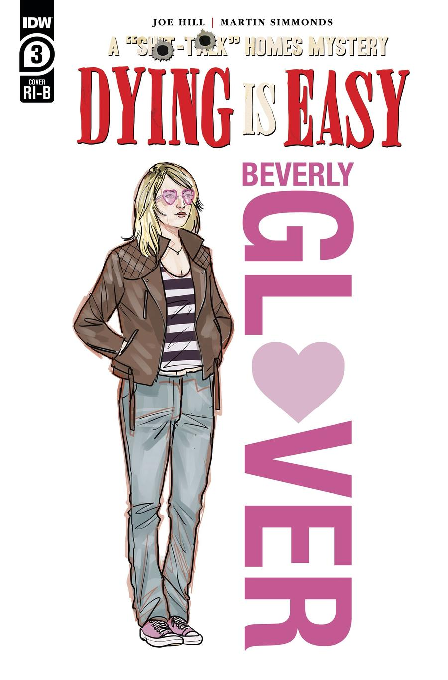 Dying Is Easy #3 Cover D Incentive Martin Simmonds Character Design Wraparound Variant Cover