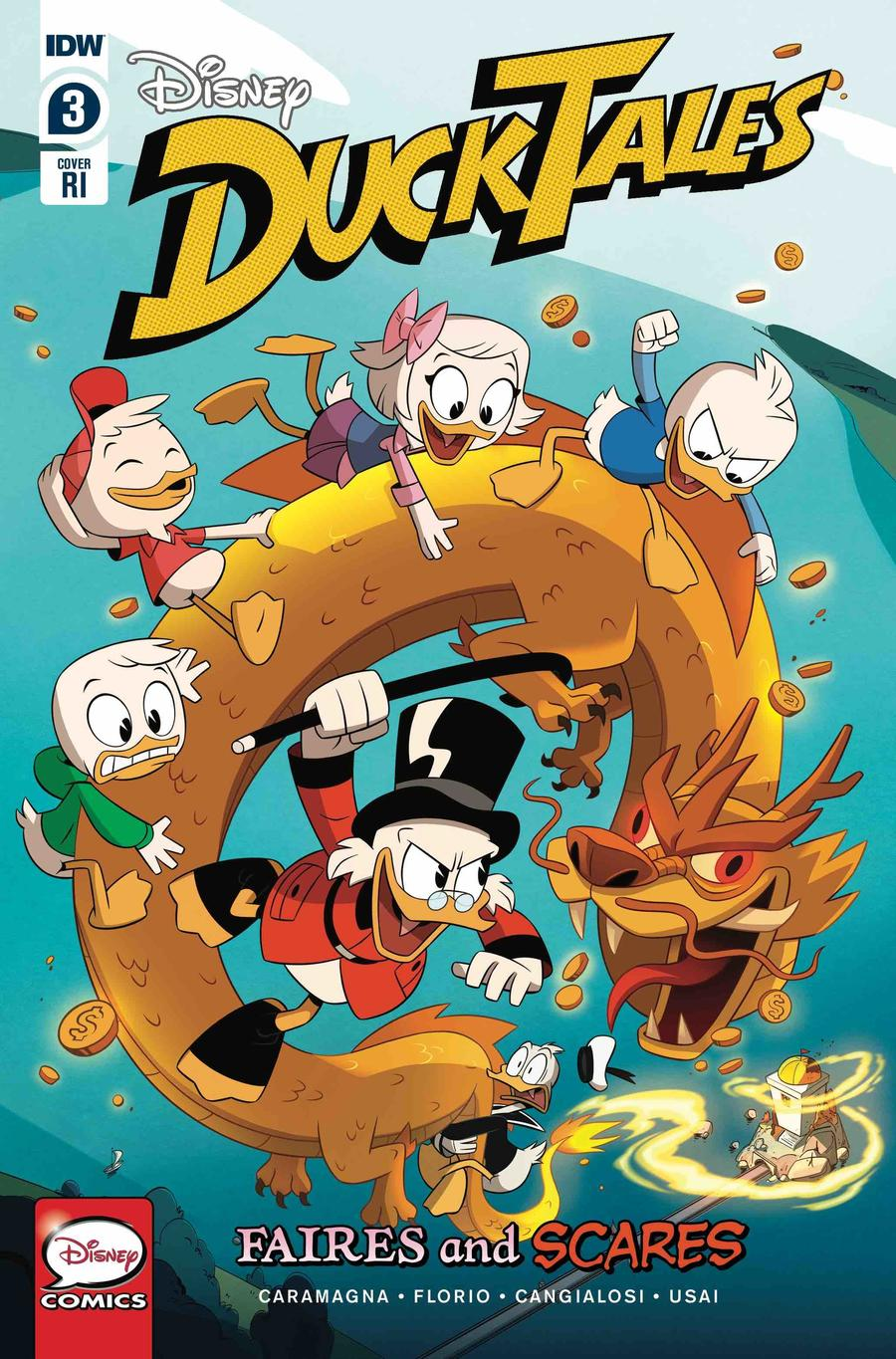 Ducktales Faires And Scares #3 Cover C Incentive Ducktales Creative Team Variant Cover