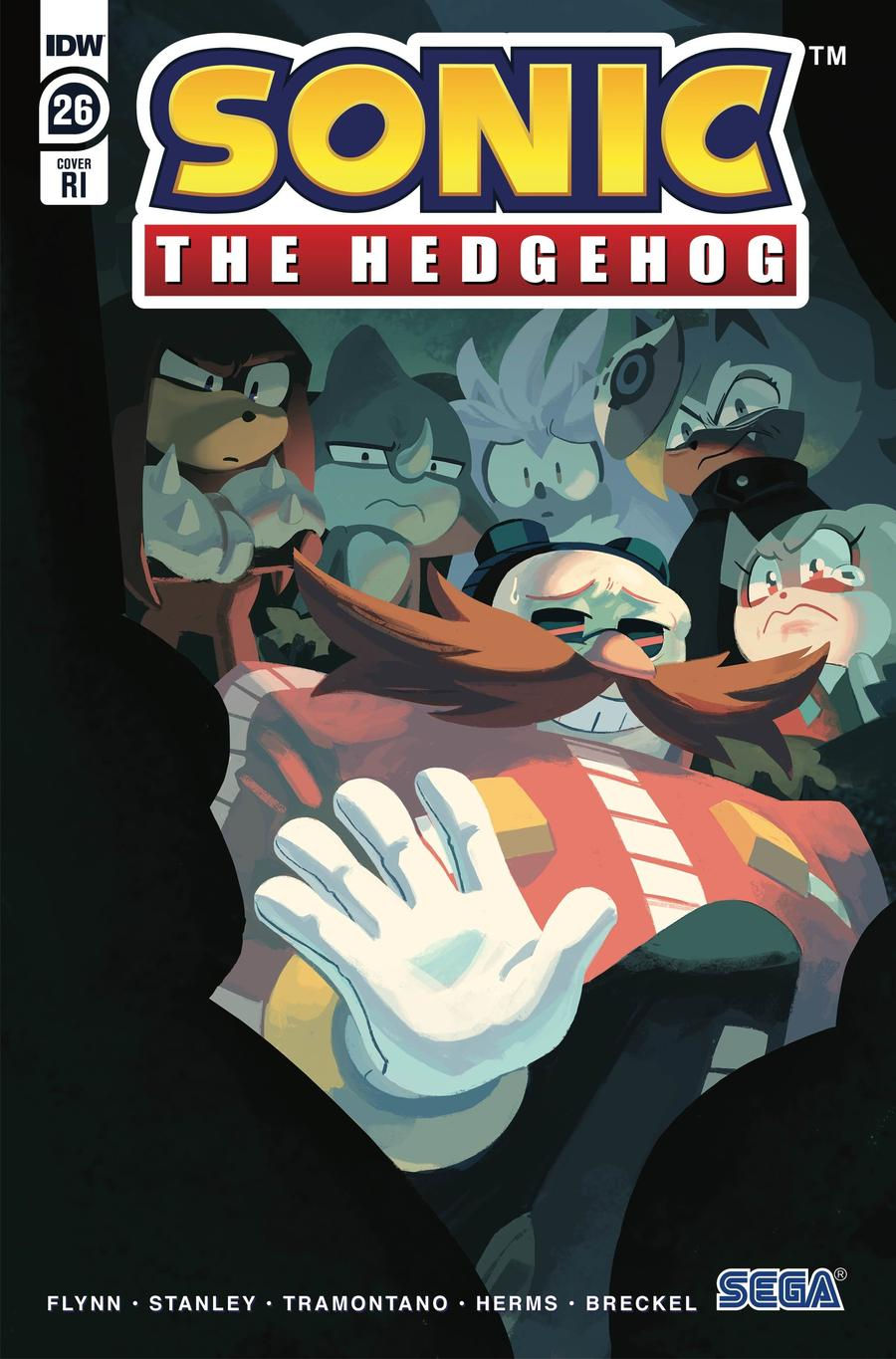 Sonic The Hedgehog Vol 3 #26 Cover C Incentive Nathalie Fourdraine Variant Cover