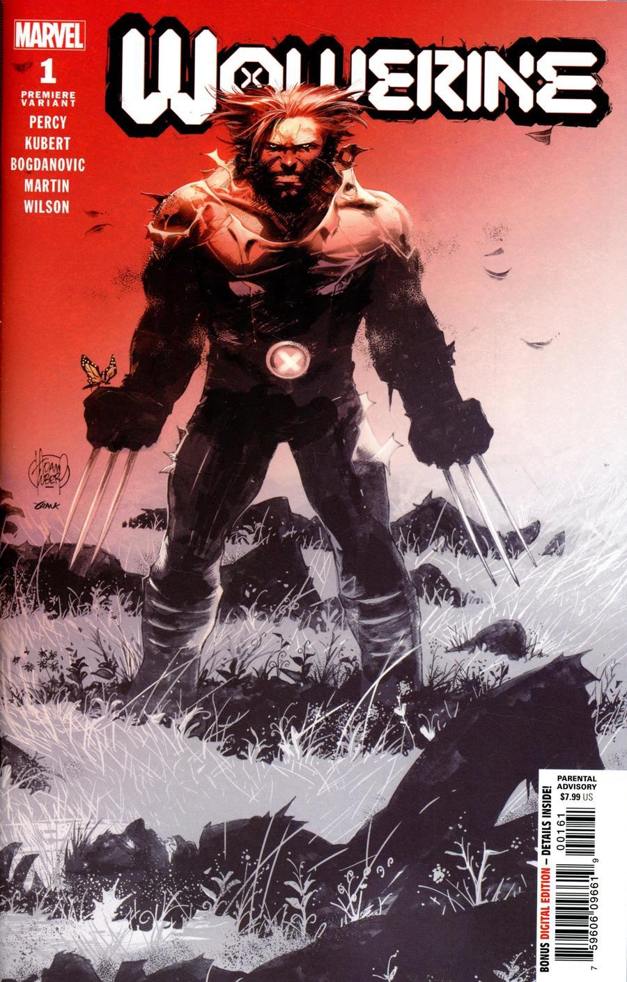 Wolverine Vol 7 #1 Cover M Incentive Adam Kubert Premiere Cover (Dawn Of X Tie-In)
