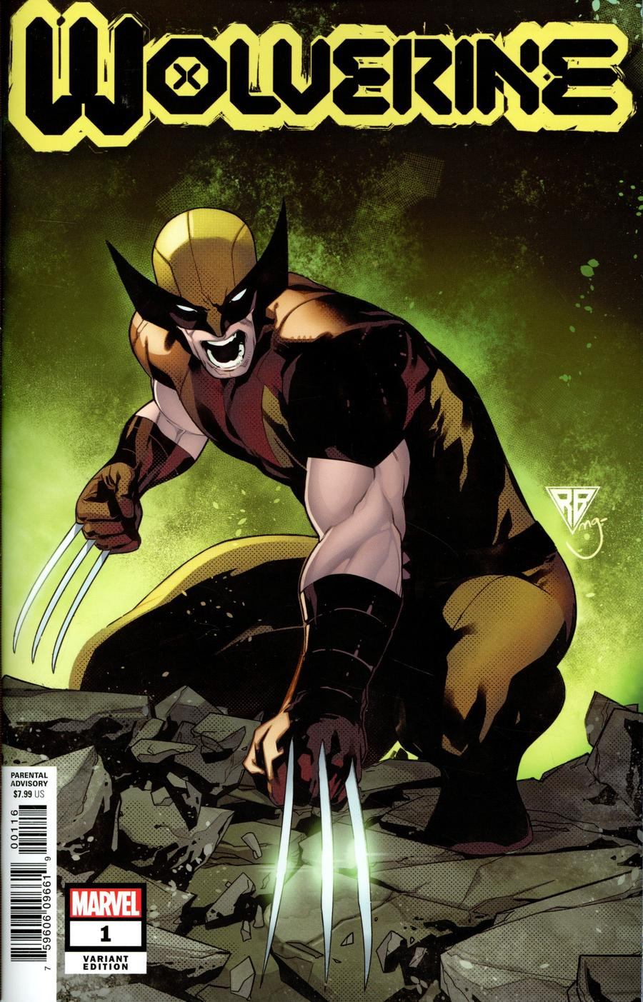Wolverine Vol 7 #1 Cover G Incentive RB Silva Variant Cover (Dawn Of X Tie-In)