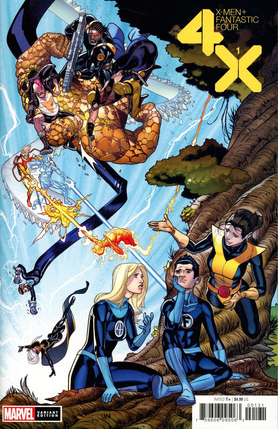 X-Men Fantastic Four Vol 2 #1 Cover E Incentive Javier Garron Variant Cover