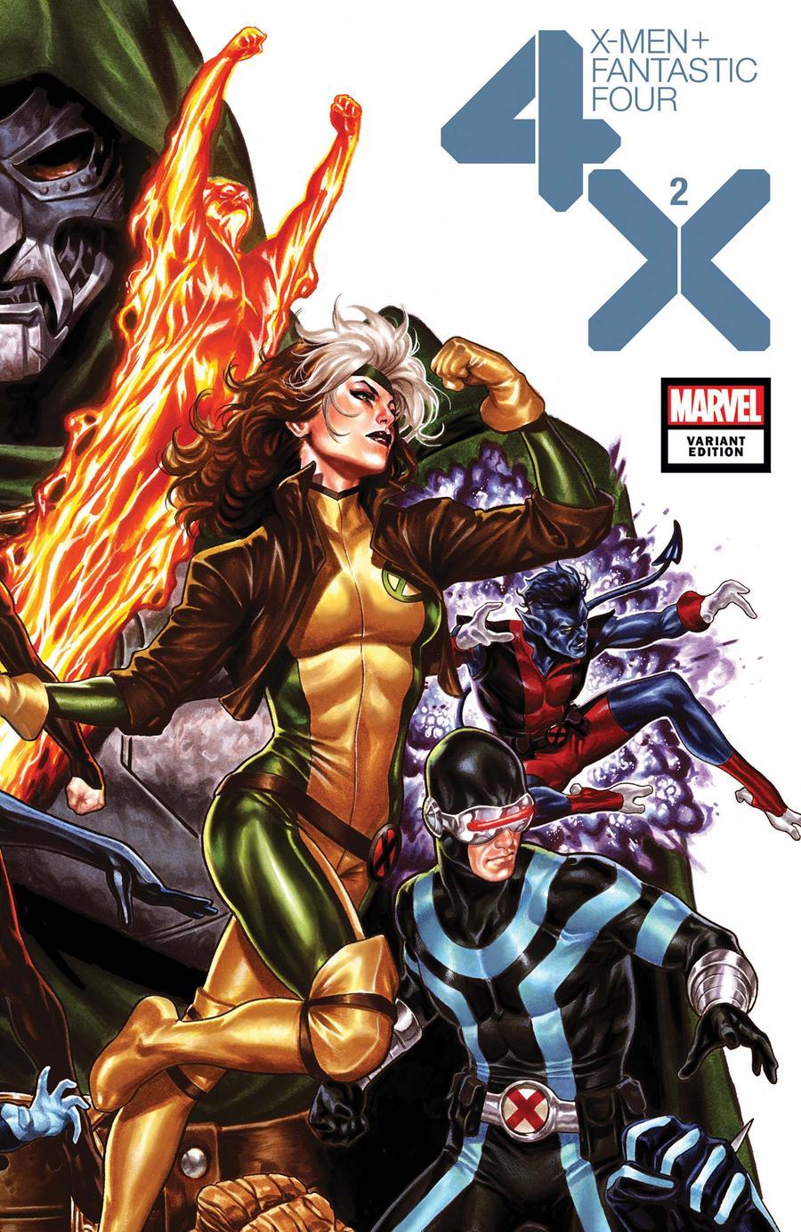 X-Men Fantastic Four Vol 2 #2 Cover C Variant Mark Brooks Cover