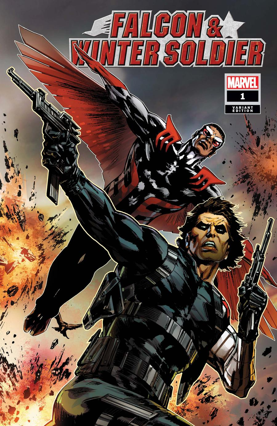 Falcon & Winter Soldier #1 Cover D Incentive Butch Guice Variant Cover
