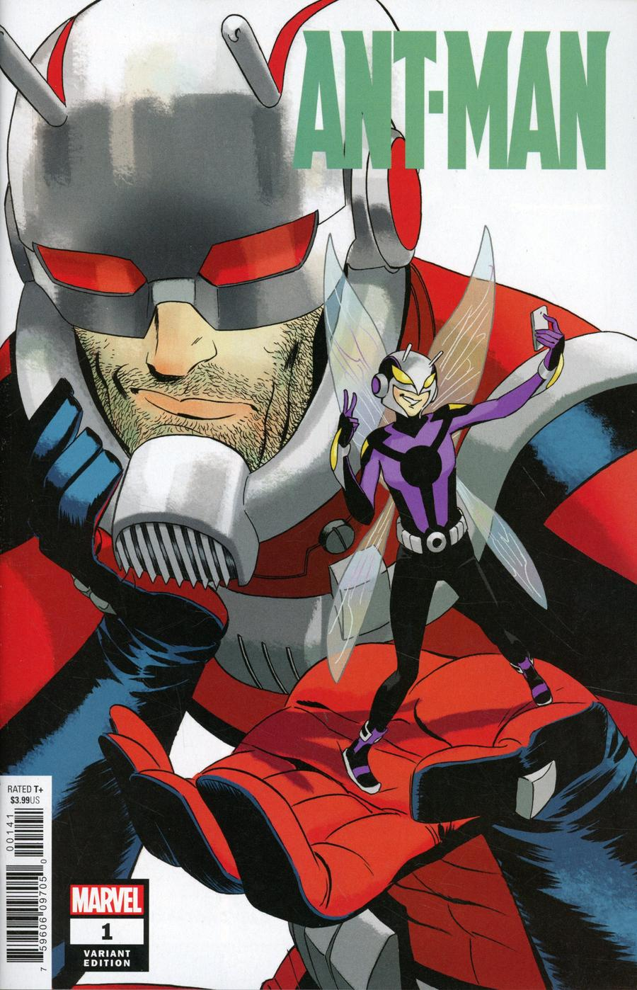 Ant-Man Vol 2 #1 Cover B Incentive Marcos Martin Variant Cover