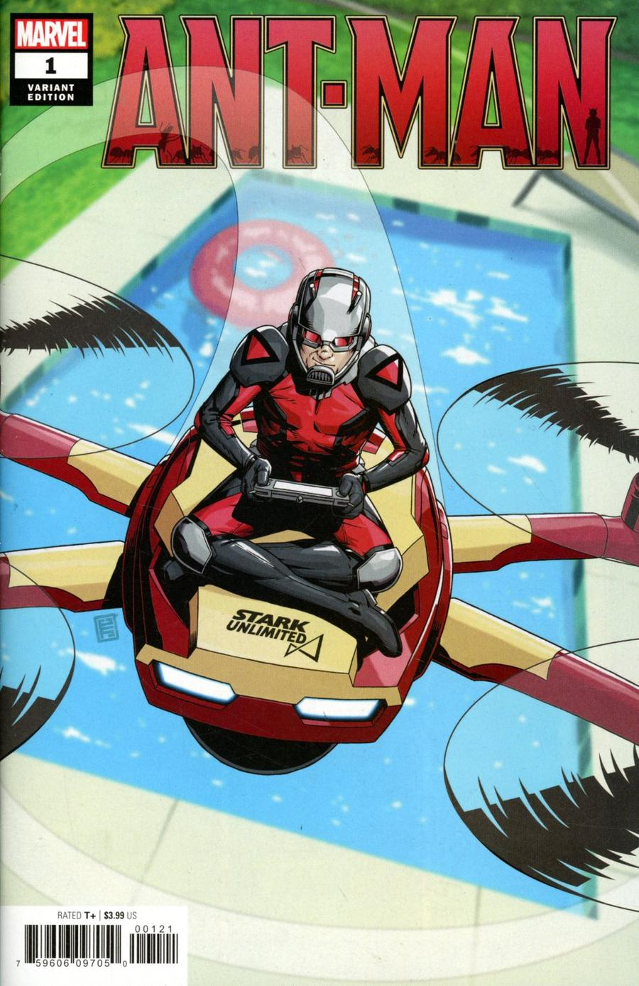 Ant-Man Vol 2 #1 Cover C Incentive John Tyler Christopher Variant Cover