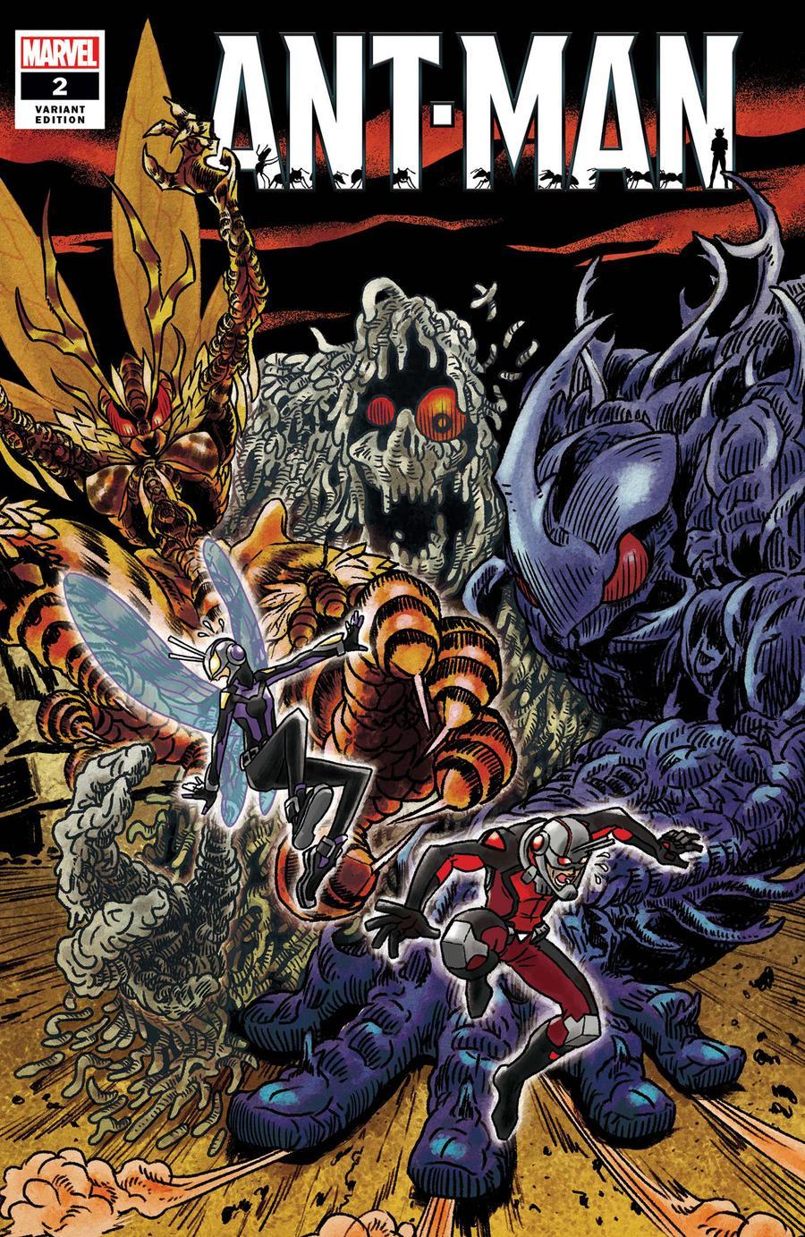 Ant-Man Vol 2 #2 Cover B Incentive Superlog Variant Cover