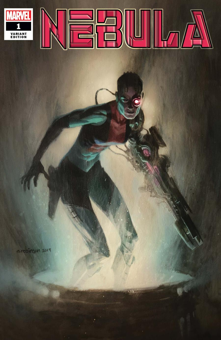 Nebula #1 Cover C Incentive Andrew C Robinson Variant Cover
