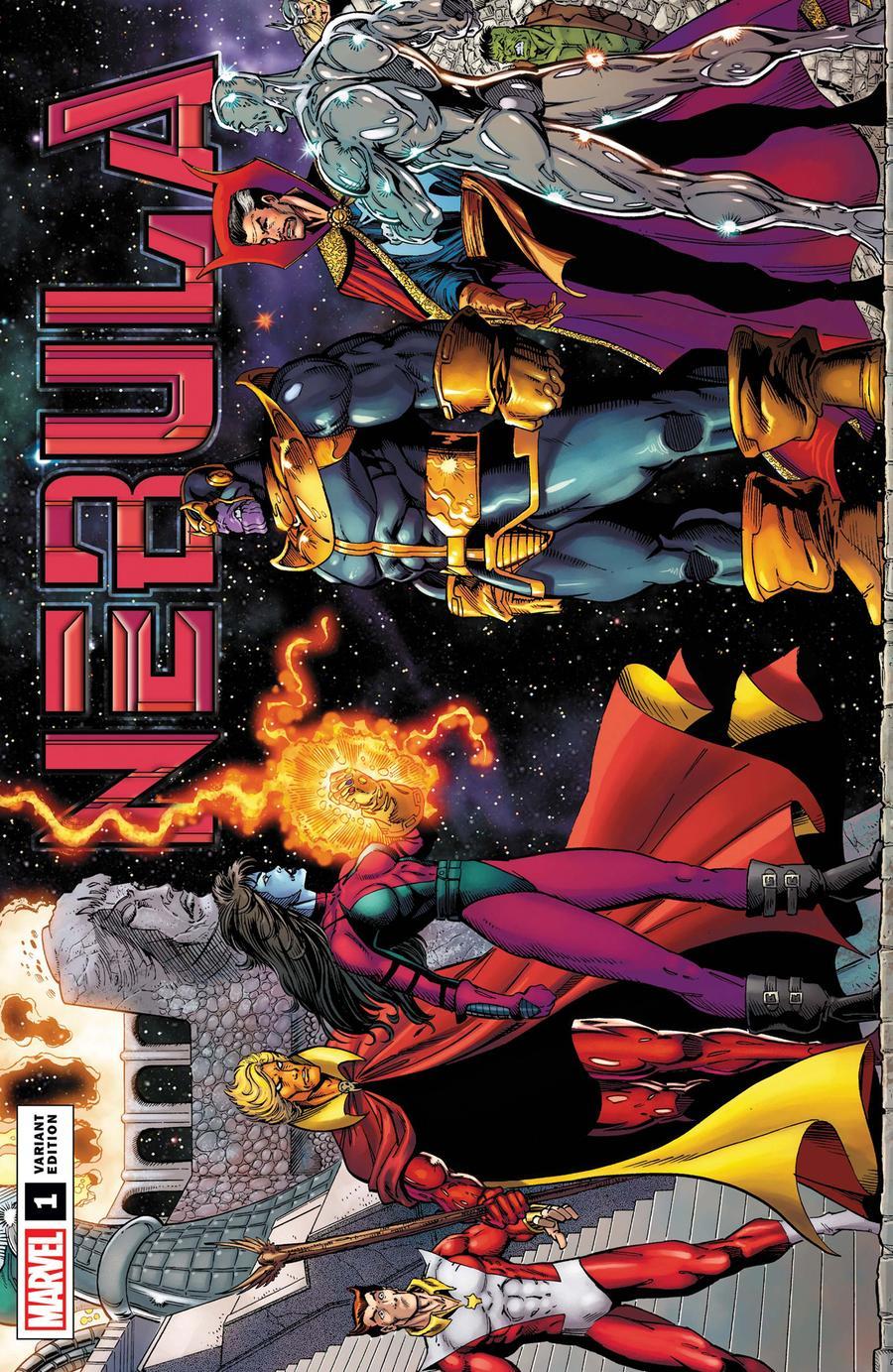 Nebula #1 Cover E Incentive Ron Lim Remastered Variant Cover