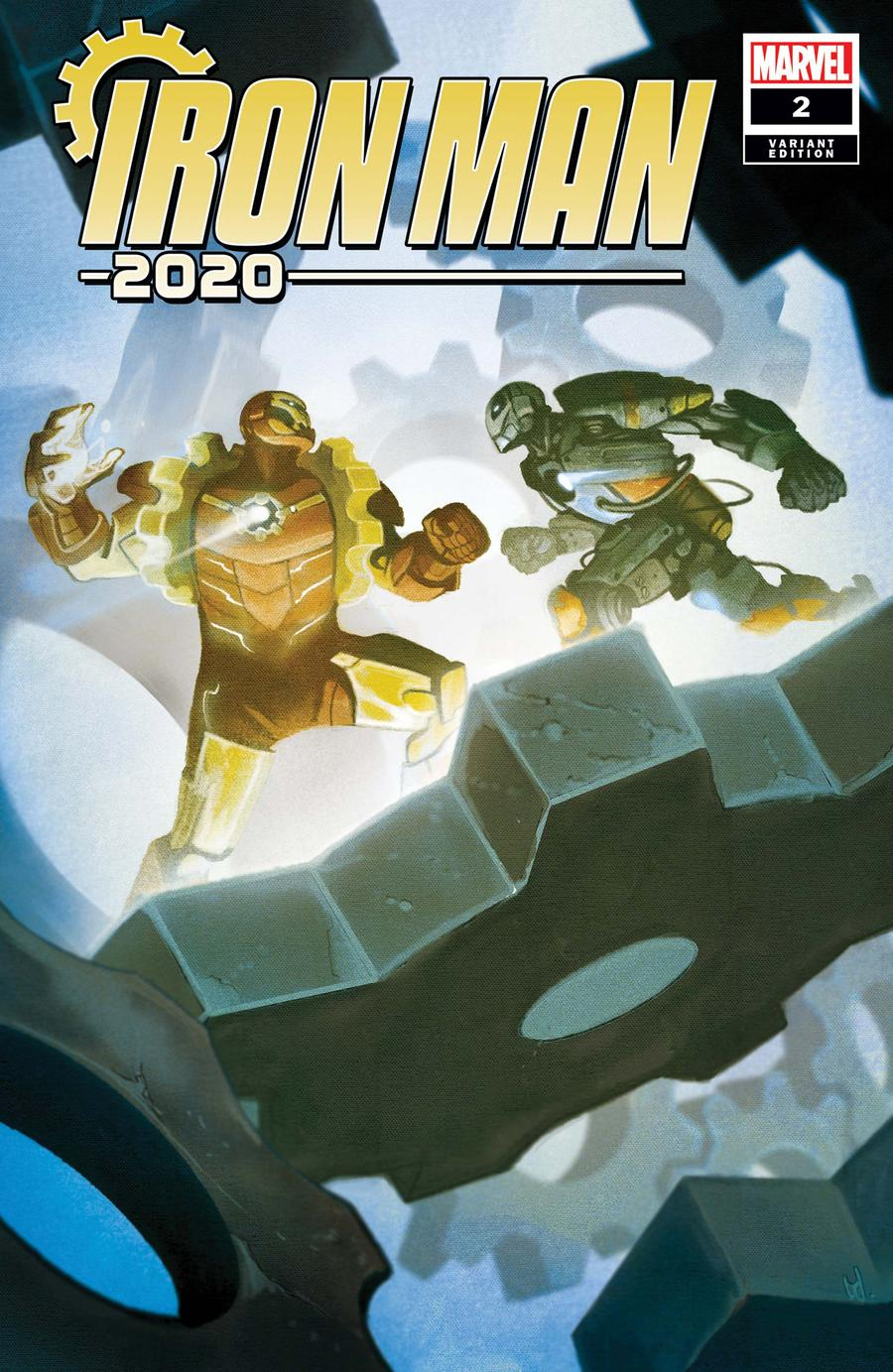 Iron Man 2020 #2 Cover E Incentive Mike Del Mundo Variant Cover