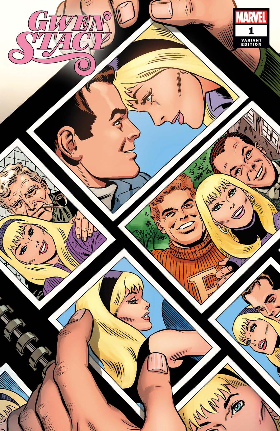Gwen Stacy #1 Cover G Incentive John Romita Sr Hidden Gem Variant Cover