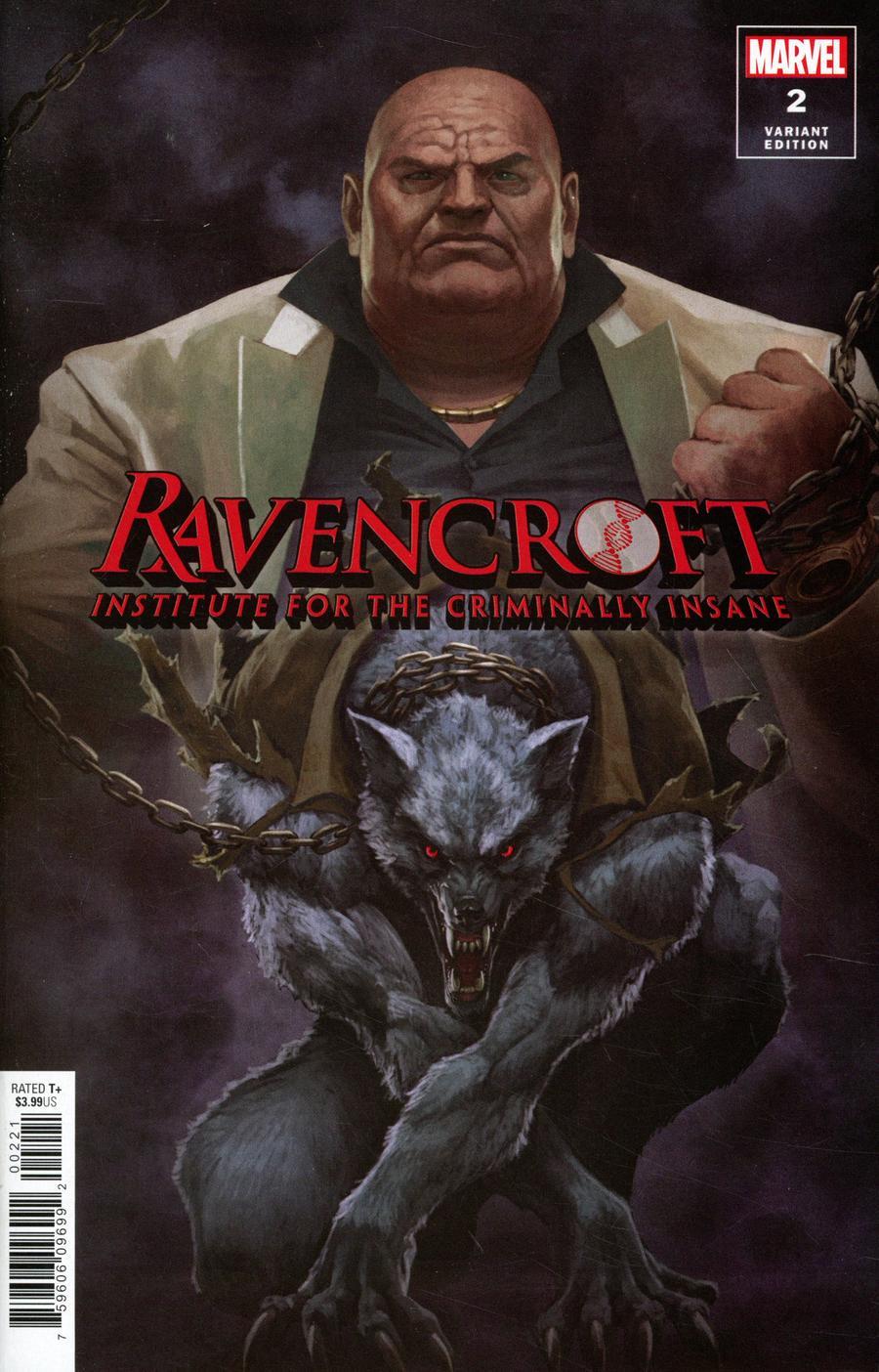 Ravencroft #2 Cover B Incentive Skan Variant Cover