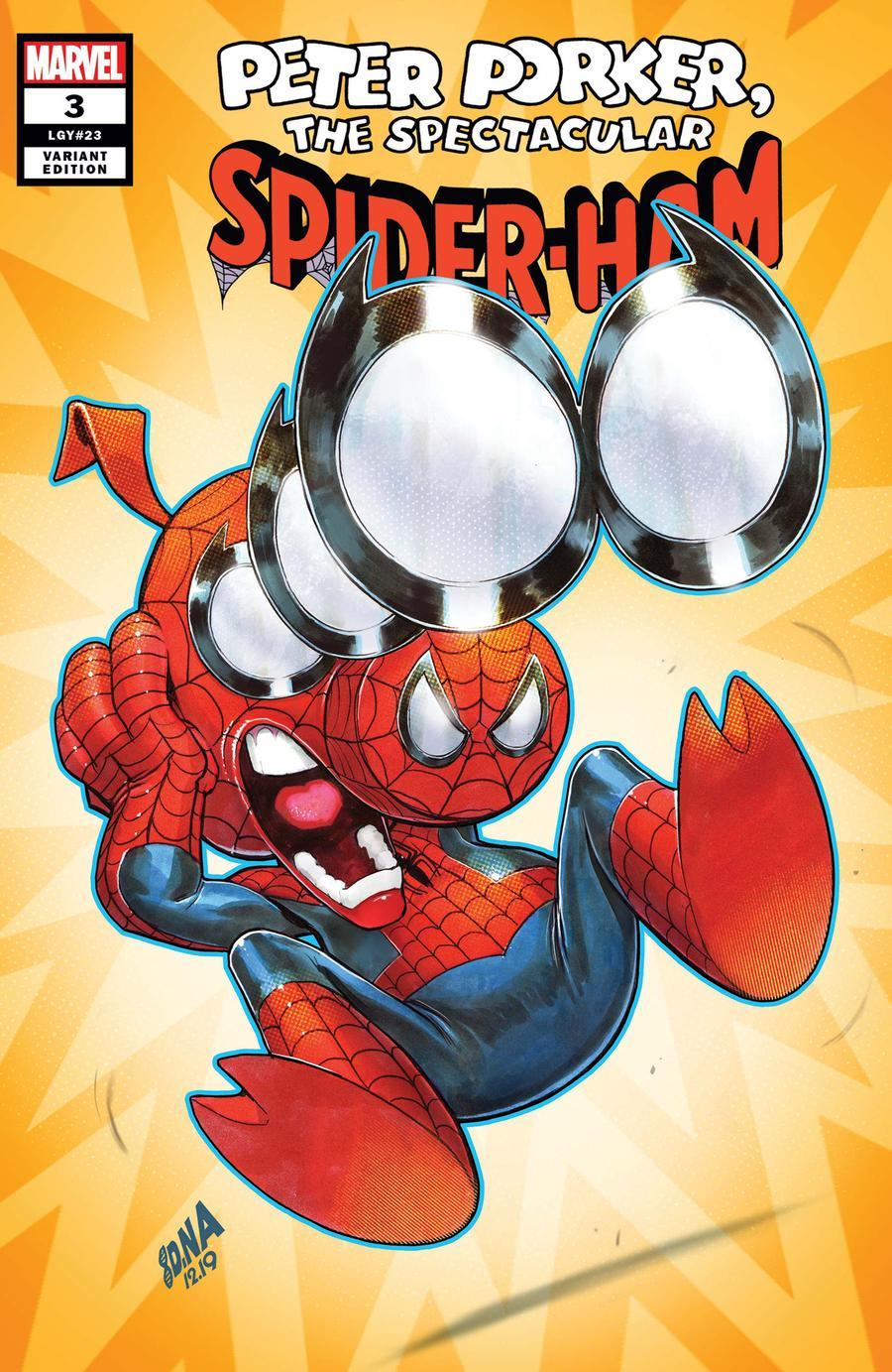 Spider-Ham #3 Cover B Incentive David Nakayama Variant Cover