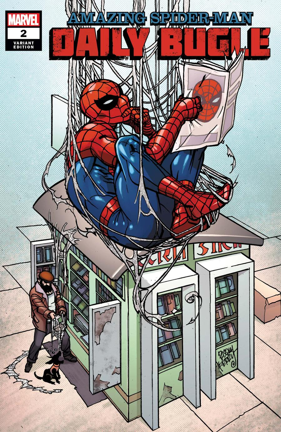 Amazing Spider-Man Daily Bugle #2 Cover B Incentive Pasqual Ferry Variant Cover