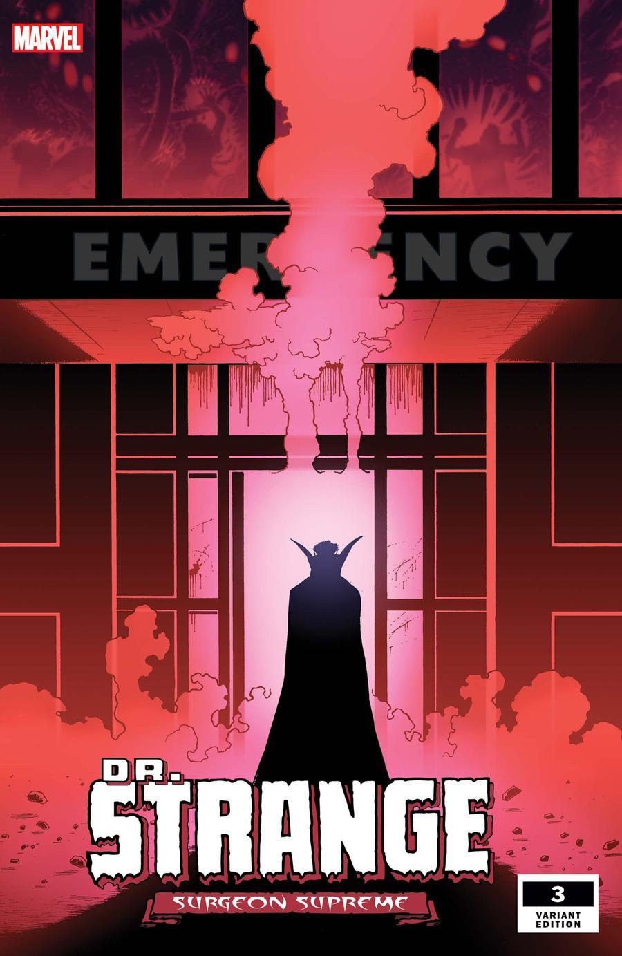 Doctor Strange Surgeon Supreme #3 Cover B Incentive Kev Walker Variant Cover